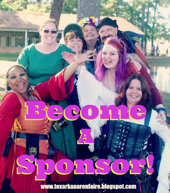 Texarkana Renaissance Faire Sponsorship