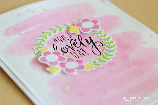 Have A Lovely Day Spring Card by Juliana Michaels featuring Lovely Spring Stamp Set and Lovely Day Die Set by Simon Says Stamp