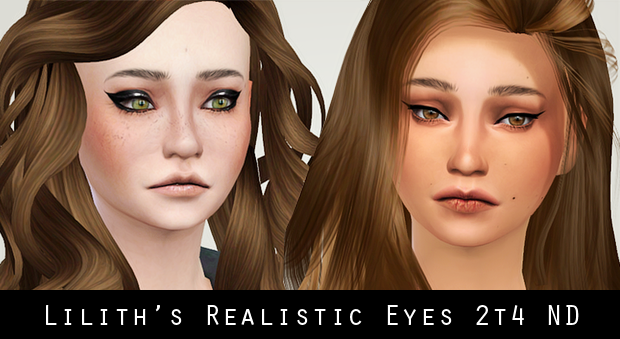 Realistic Eye Template Lilith's Realistic Eyes And