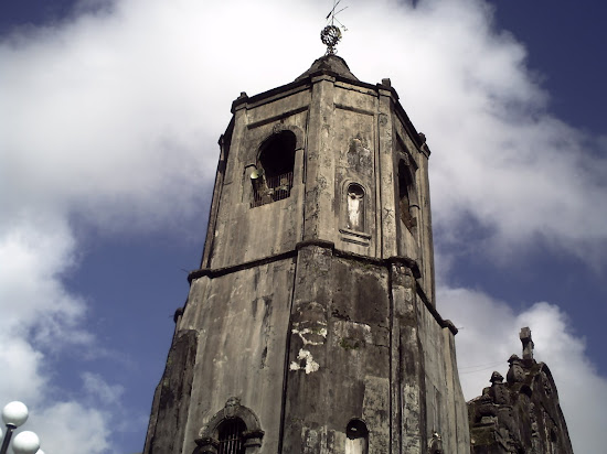 Bell tower of Lucban Church