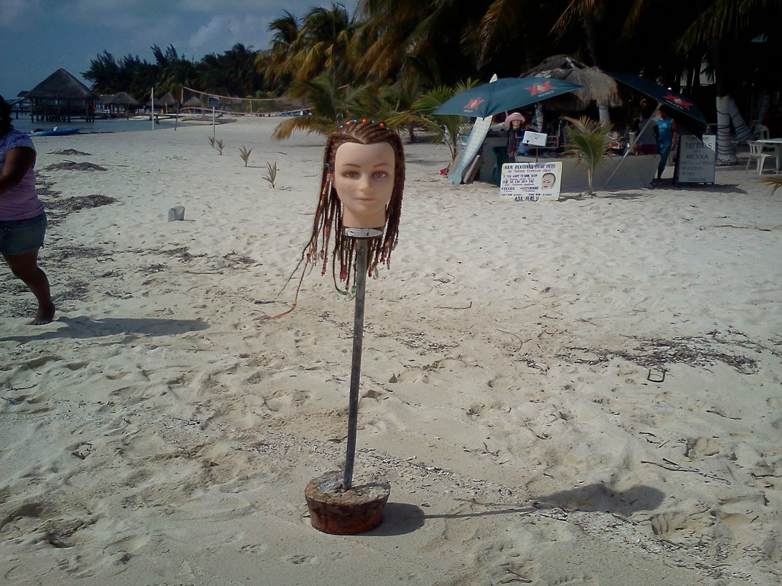 Braid Mannequin  at Isla Mujeres