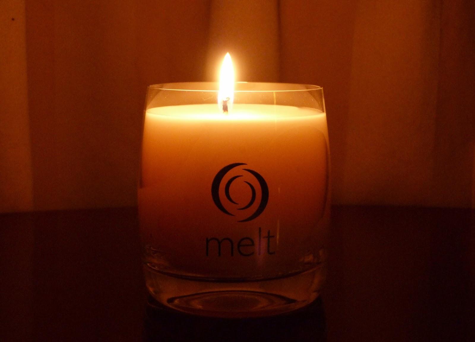 Melt Candle Review Honey Go Lightly