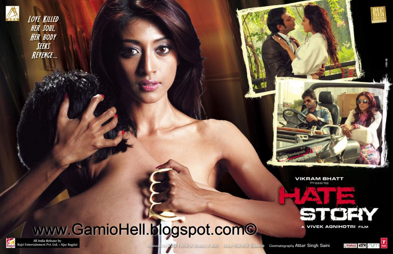 Hate Story (2012) Hindi Movie DVDRip 400Mb Mediafire Links ...