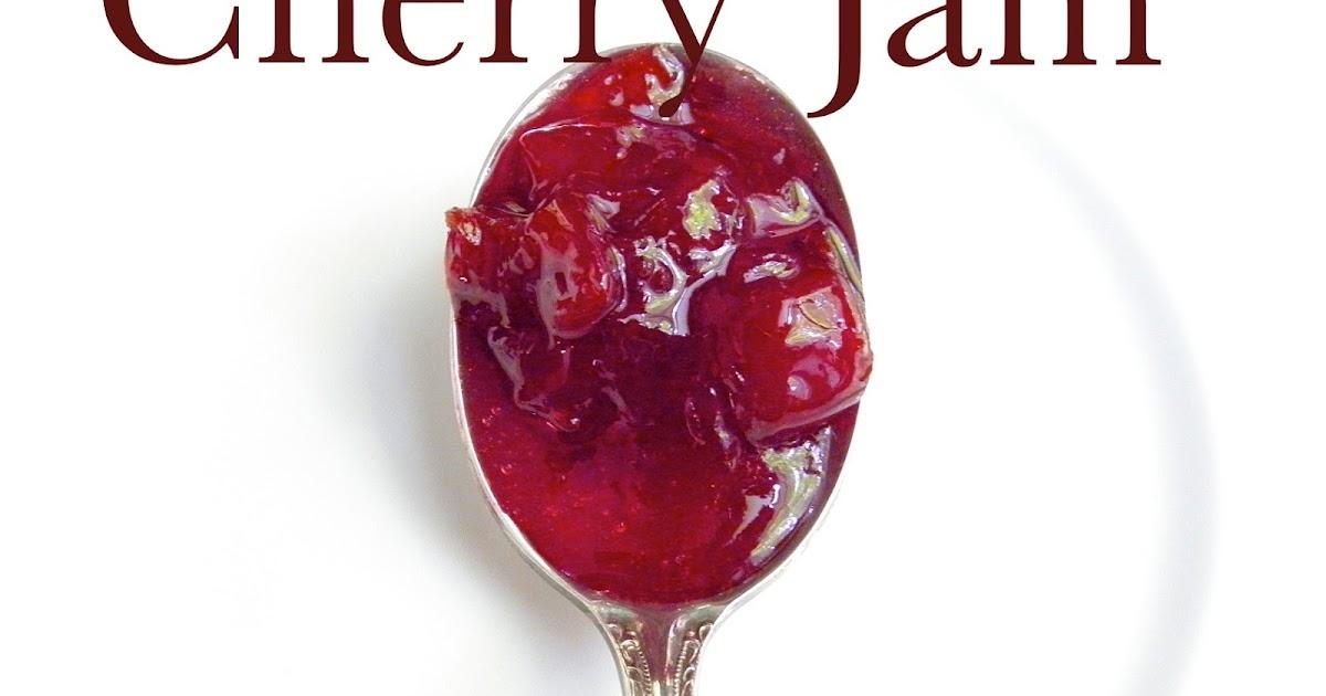 how to make cherry jam from frozen cherries