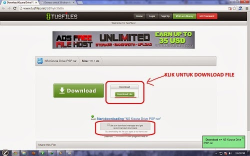 Cara Download File Di Tusfiles.Net