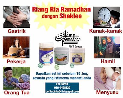 Riang Ria Ramadhan dengan Shaklee