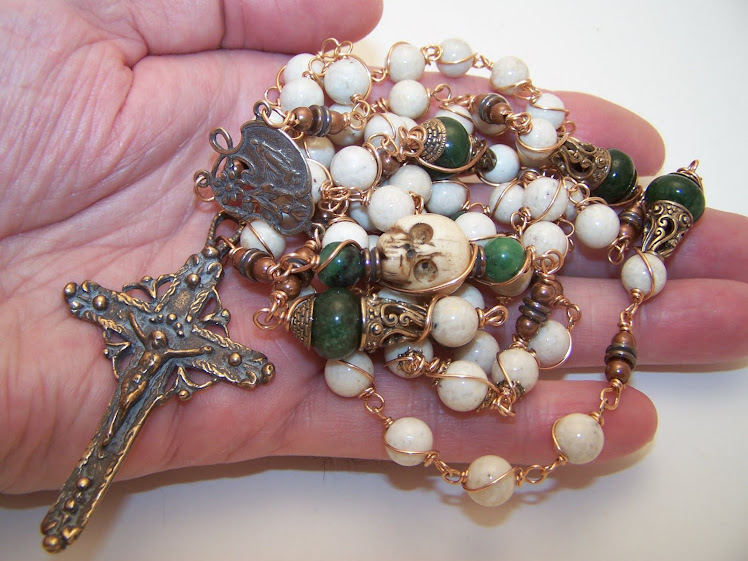 Newly Listed! Rosary of Queen Of Peace