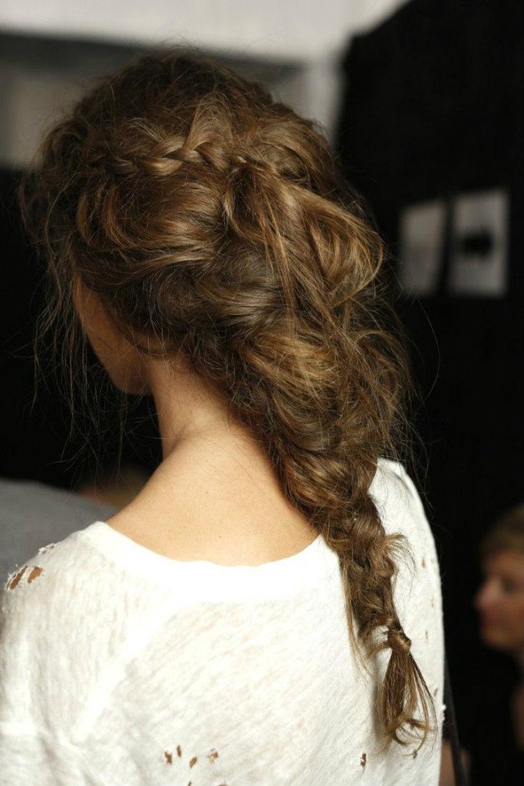 Peinado novia trenzado