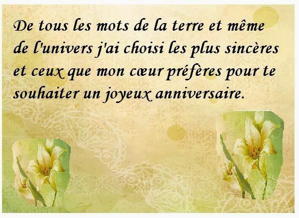 Texte D Anniversaire Pour 40 Ans A Sa Soeur