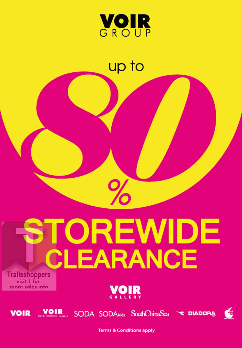 Voir Group Year End Sale 2015 storewide clearance