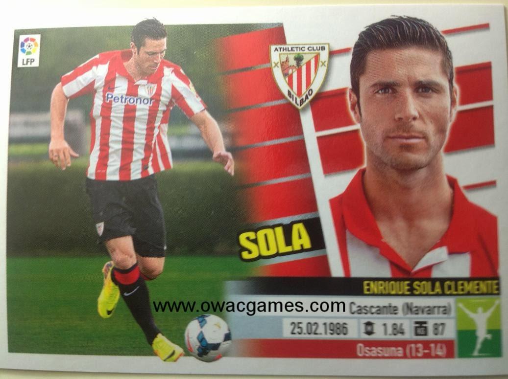Liga ESTE 2013-14 Ath. Bilbao - Últimos Fichajes 36 - Sola