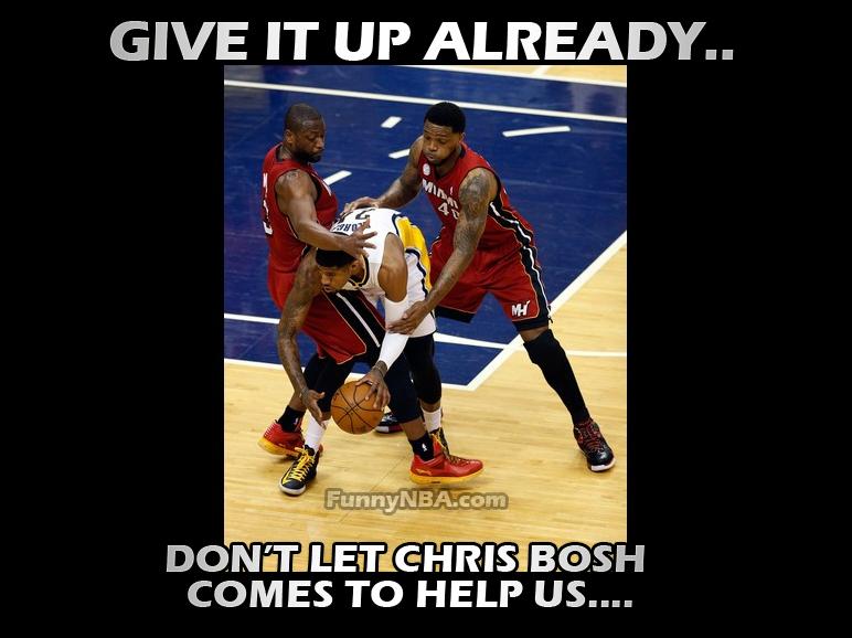 Miami Heat Eastern Conference Finals Champion - Funny Clip   NBA FUNNY MOMENTS