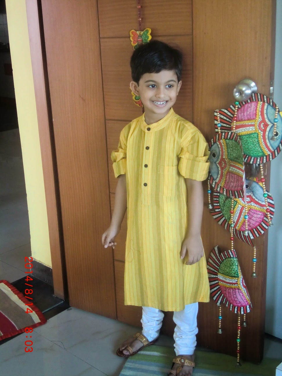 Ethnic-wear on Independence Day