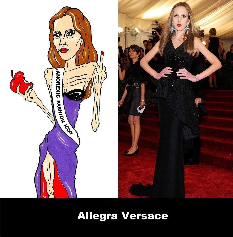 2014 Allegra Versace Anorexia