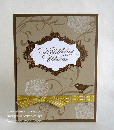 Birthday Wishes with Everything Eleanor stamp set by Stampin' Up!