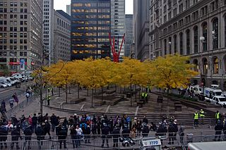 Occupy Wall Street Protest, Zucotti park