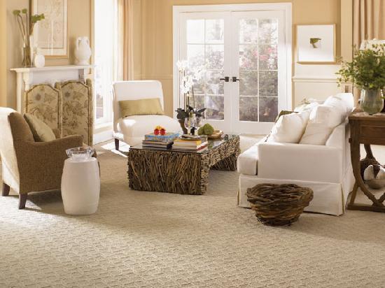 Innenarchitektur Design Wohnzimmer Teppich