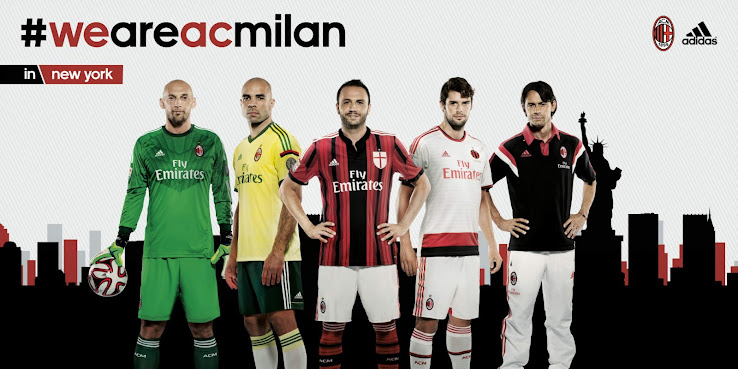 Milan 14 15 Home Away And Third Kits Footy Headlines