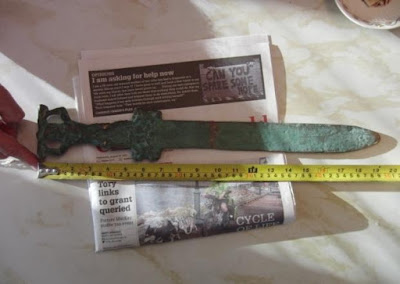 Pedang Romawi di Oak Island, Rubah Sejarah Amerika