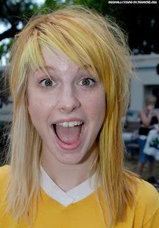 Hayley Williams Blonde Hair