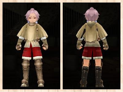 冒険者の服 赤色2・男・重量化