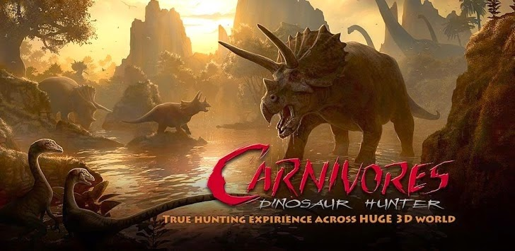 Carnivores: Dinosaur Hunter HD - Android - Game - APK + Data obb File Download | Carnivores: Dinosaur Hunter HD - apk + data obb