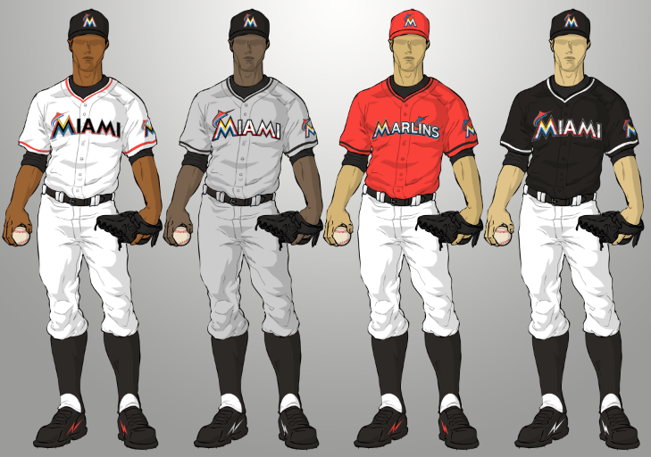 Miami Marlins Uniforms