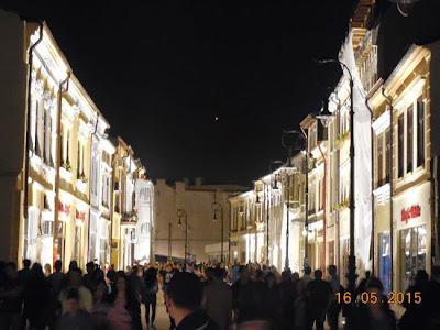 Centrul Vechi Craiova pe timp de noapte