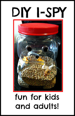 diy ispy, homemade ispy, activities for kids, coffee table games, how to make an ispy