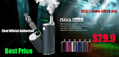 Enjoy 4% off discount to buy Cheap Eleaf iStick Basic Starter Kit