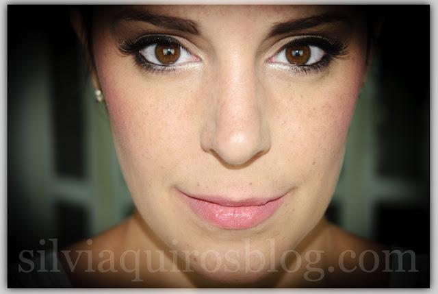 Maquillaje novia de glamour a intenso intense bridal makeup Silvia Quiros SQ Beauty