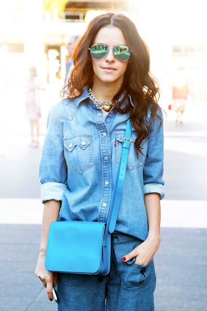 Amarelo Bordô-Azul-Monocromatico-Verao-Tendencia-Fashion-Bolsa-Moda-look