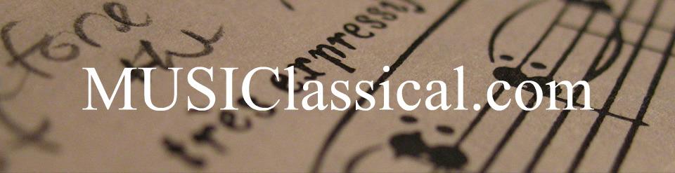 MUSIClassical Blog
