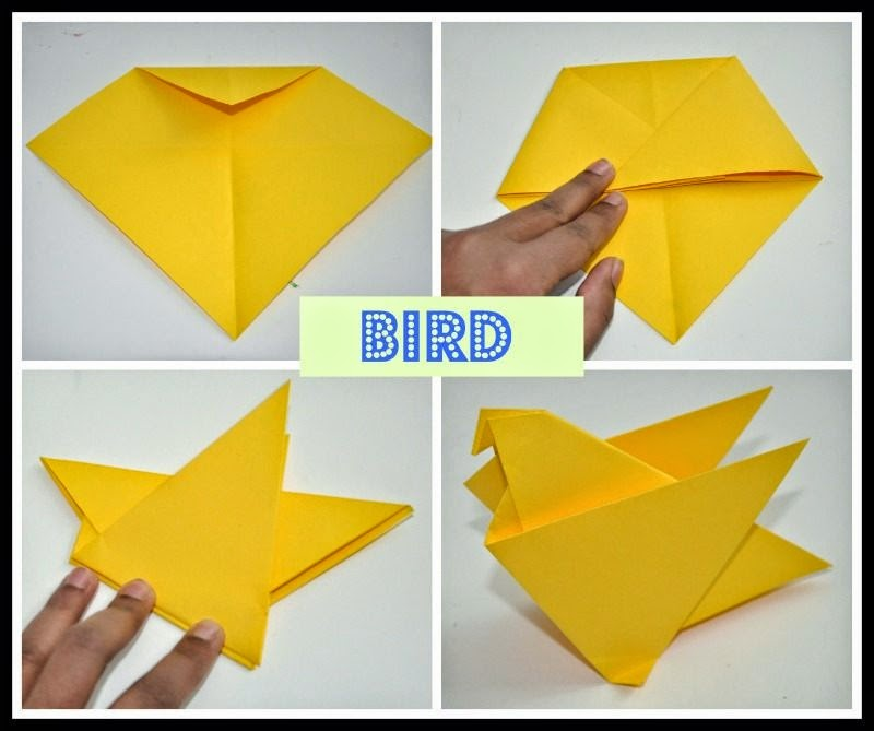 very easy origami for kids