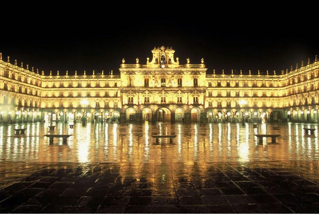 Plaza Mayor salamanca. Las plazas mas bonitas de Europa