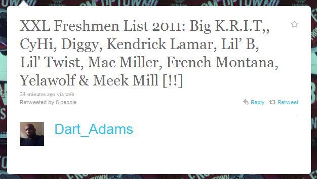XXL Freshman 2011 List Leaked?