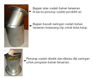 ALDIS Alat Distilasi Minyak Asiri Alat Suling Minyak