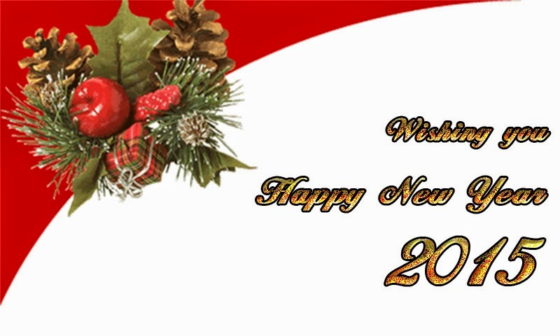 Happy New Year Wishes 2015 Greeting Cards Images