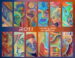 2017 calendar English