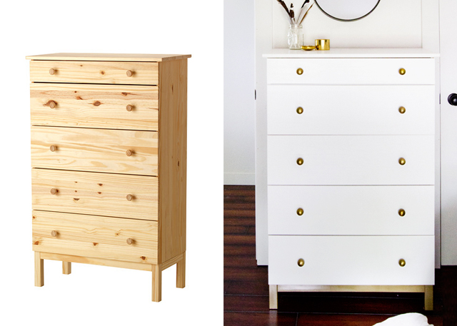 Comodas antiguas blancas cmoda luis xv pintada a mano - Ikea mesillas y comodas ...