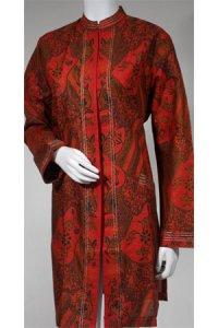 Batik Kasato 551 - Merah [ XXL ] (Toko Jilbab dan Busana Muslimah Terbaru)