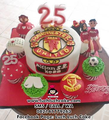 Kue Tart Manchester United Daerah Surabaya - Sidoarjo