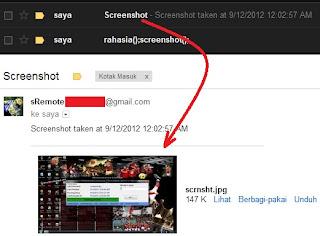 Mengontrol Komputer Lain Via Gmail dengan sRemote