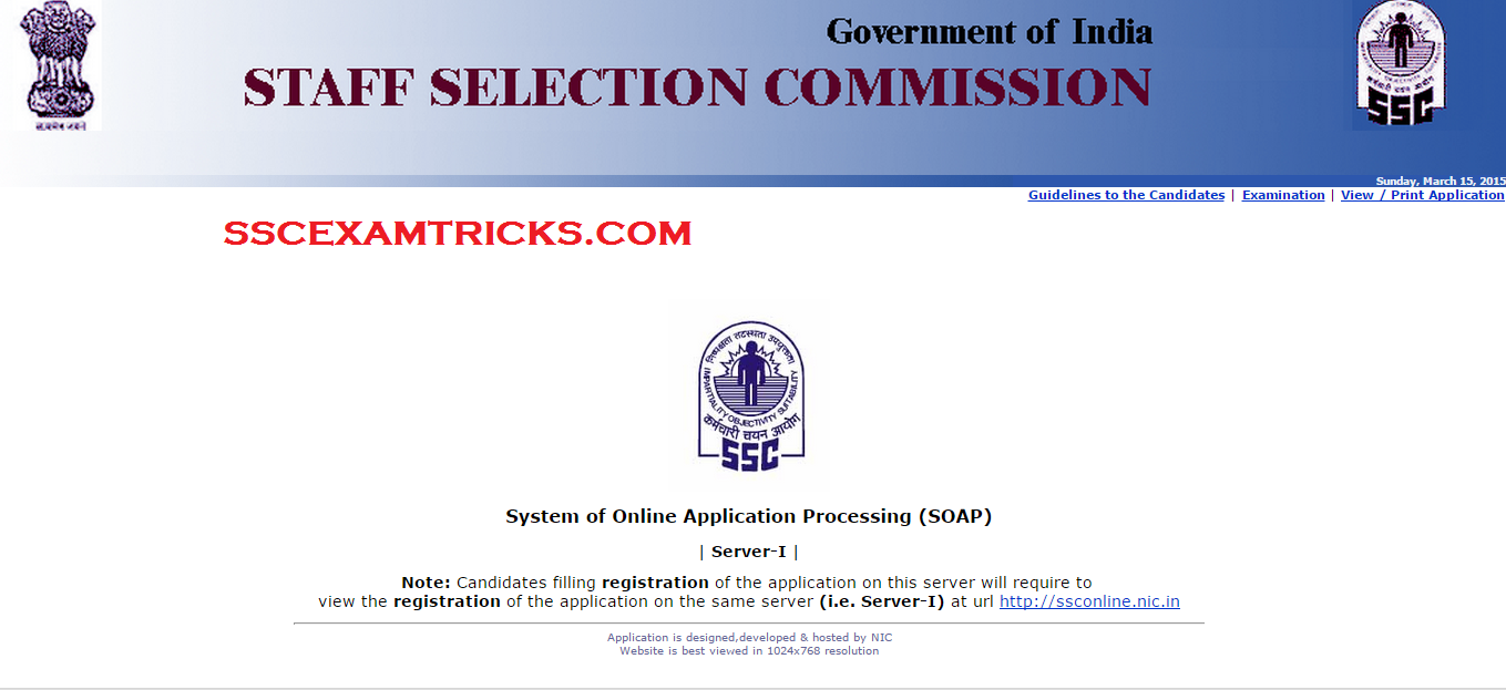 ssc cgl 2015 notification