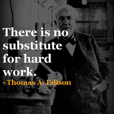 Thomas A. Edison inspirational quotes