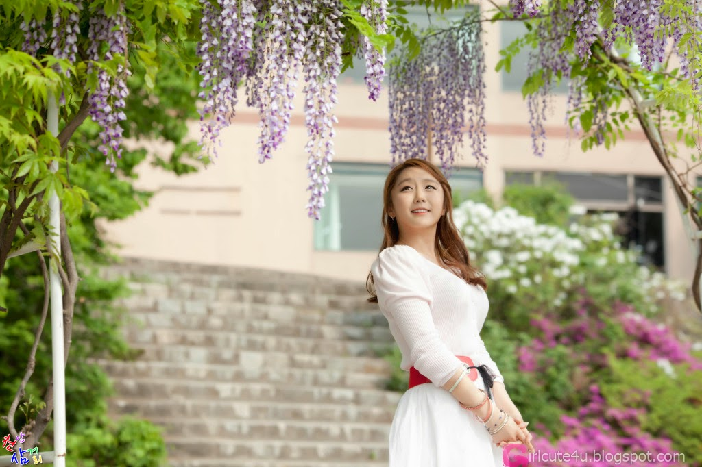 1 Kim Ha Eum - Carny Shoot, Three Outfits- very cute asian girl-girlcute4u.blogspot.com