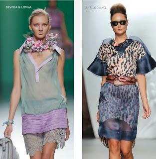 moda con transparencias 2013