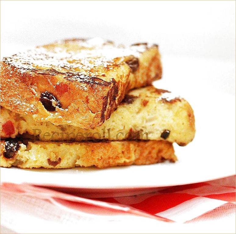 Panettone French Toast | French Toast With Homemade Fruit Bread ...