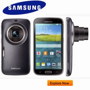 Amazon offer: Samsang Galaxy K  Super zoom Smartphone  wprth Rs 34990 for Rs. 18749 (SBI Cards) or Rs.19999