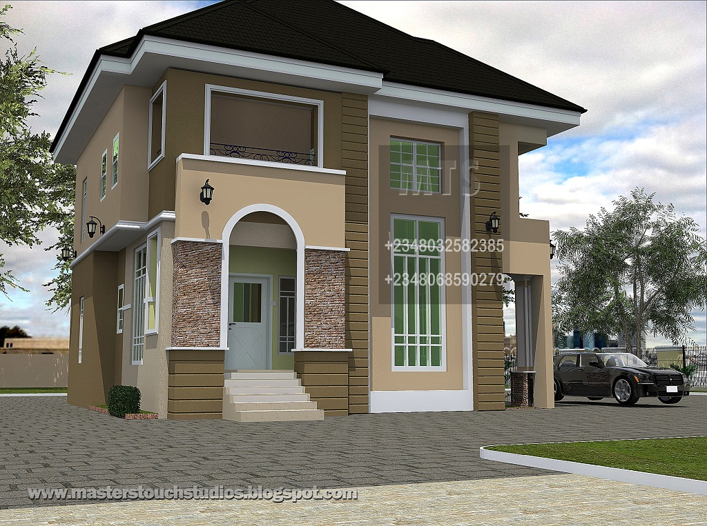3Bedroom Duplex Home Designs